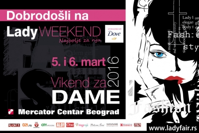 Lady Weekend u shopping centru Mercator