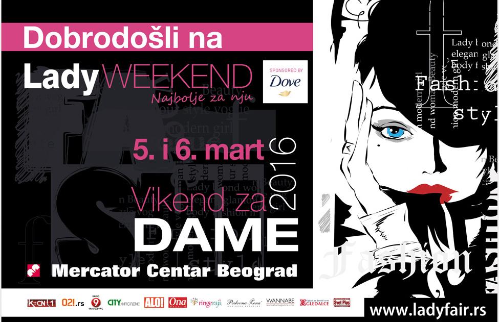 Lady Weekend u shopping centru Mercator