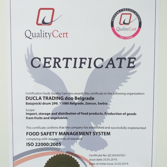 Sistem menadžmenta bezbednošću hrane
